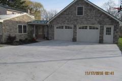 Garage and addition