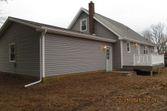 siding, windows, doors, trim, deck
